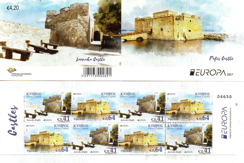2017 Cyprus (Booklet)