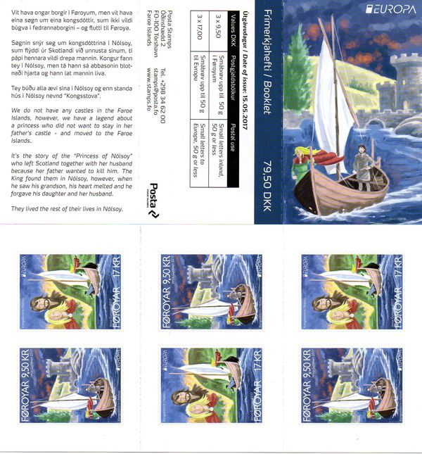 2017 Faroes (Booklet)