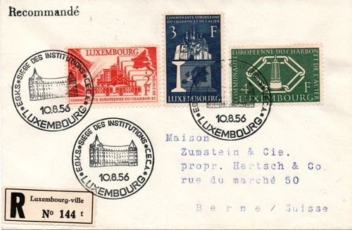 1956 Luxembourg - European Coal & Steel