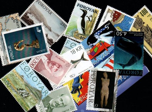 Small Postage Lots Faroe Islands