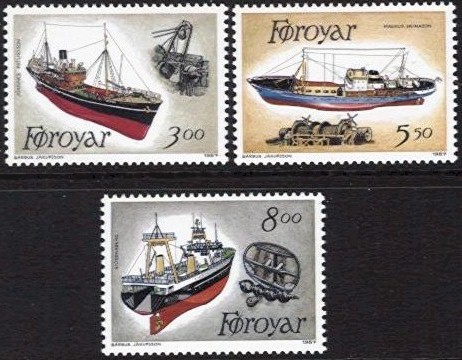 1987 Fishing Trawlers