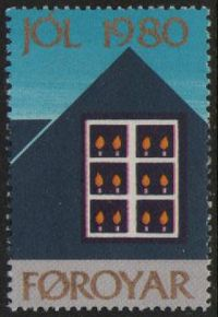 1980 Christmas Seals Single