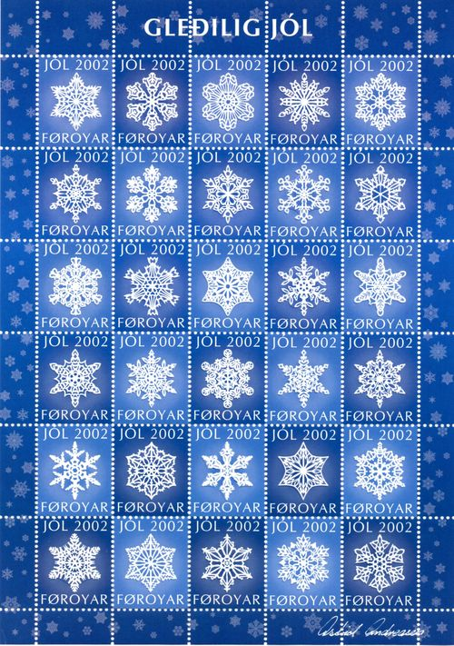 2002 Christmas Seals Sheet (Perf.)