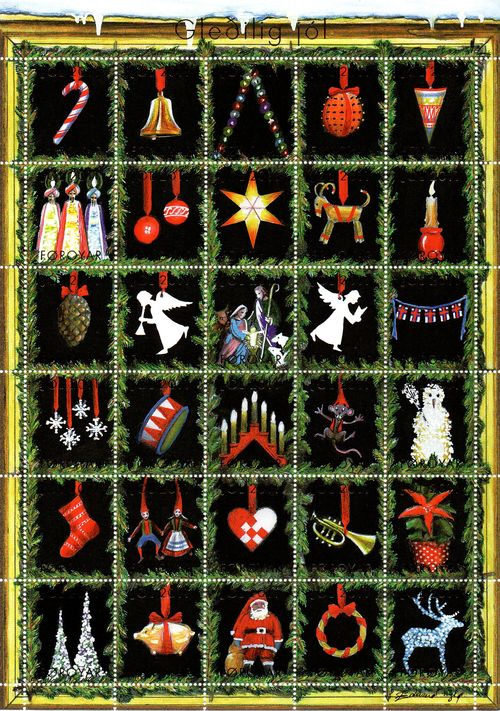 2011 Christmas Seals Sheet