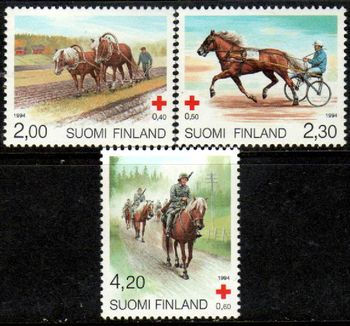 1994 Red Cross - Horses