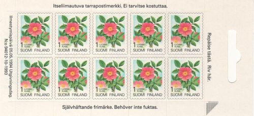1994 Provincial Plants S/A (Sheetlet)