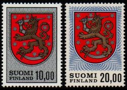 1974 & 1978 Finnish Arms