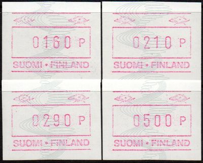 1991 Fixed Value FRAMA Labels