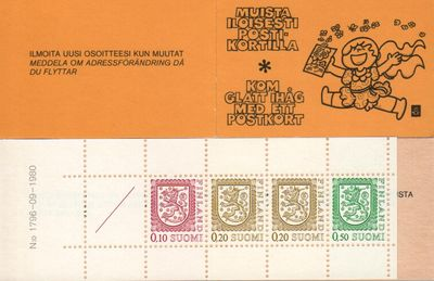 1980 Lion Definitives [No: 1796 - 09 - 1980]
