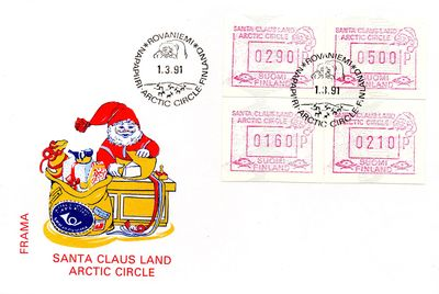 1991 Santa Claus Land FRAMA