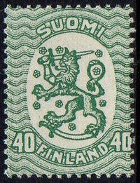 40p Blue Green Type II