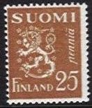 25p Red-Brown