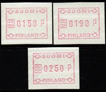 1989 Fixed Value FRAMA Labels
