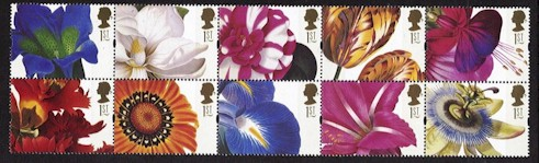 1997 Greetings Stamps - Flowers