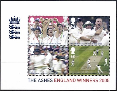 2005 Ashes Winners M/S