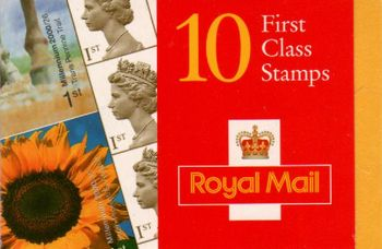 2000 8x1st + Sunflower Commemoratives