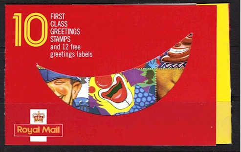 1990 Greetings Booklet - Smiles