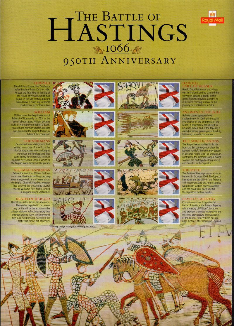 2016 950th Anniv. Battle of Hastings