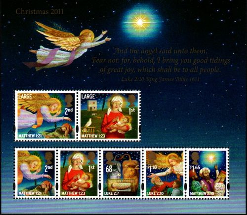 2011 Christmas - King James Bible M/S
