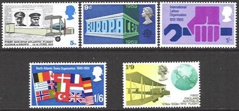 1969 British Anniversaries