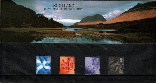 1999 Scotland Pack No 45