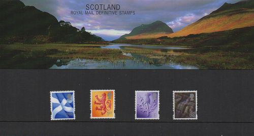 2003 Scotland Pack No 64