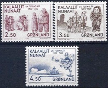 1983 Millenery of Greenland (3rd Issue)