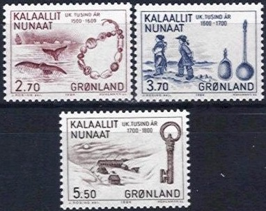 1984 Millenery of Greenland (4th Issue)