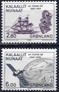 1985 Millenery of Greenland (5th Issue)