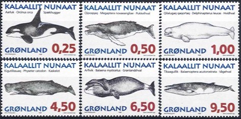 1996 Whales (1st series)