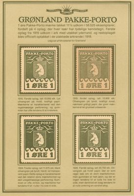 1983 Pakke Porto Reprints 2nd Series