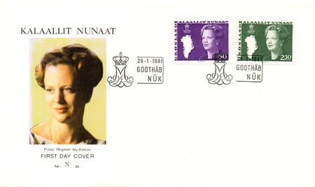 1981 Queen Margrethe Definitives (Illus.)