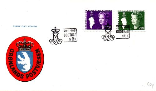1981 Queen Margrethe Definitives (Official)