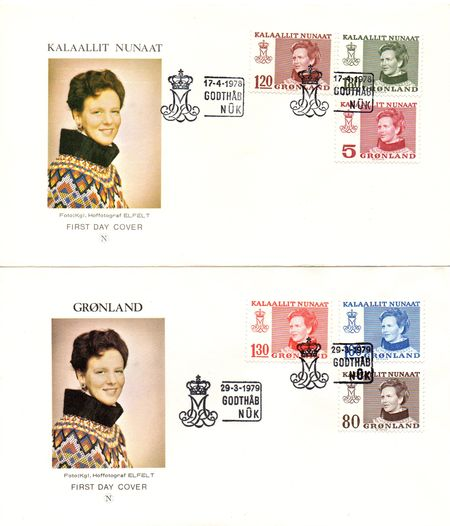 1978/9 Queen Margrethe Definitives (2)