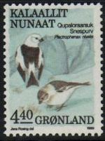4.40 Kr Snow Buntings
