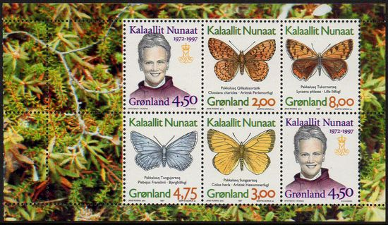 1997 Butterflies Booklet Pane (1)
