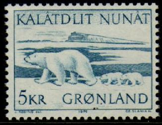 5 Kr. Polar Bear