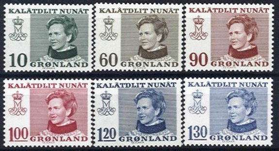 1973 - 89 Queen Margrethe Set