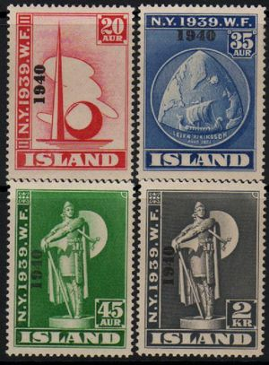 1940 World's Fair Overprints (M/M)