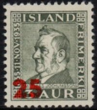 1941 Jochumsson (Surcharge - Red)