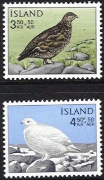 1965 Charity Stamps - Birds