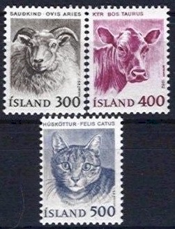 1982 Domestic Animals