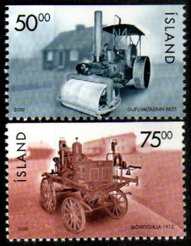 2000 Steam Roller & Fire Engine