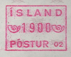 1983/99 Machine Label 1800a Numbered 02