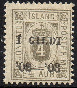 1902 Official I GILDI 4a Grey