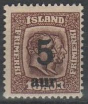1922 5a on 16a Brown 2