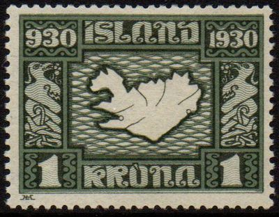 1 Kr Bronze green