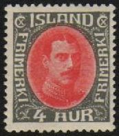 1932 4a Red and Grey