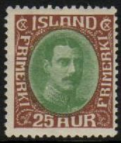 1932 25a Green & Brown