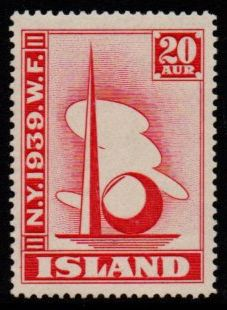 1939 World Fair 20a Scarlet